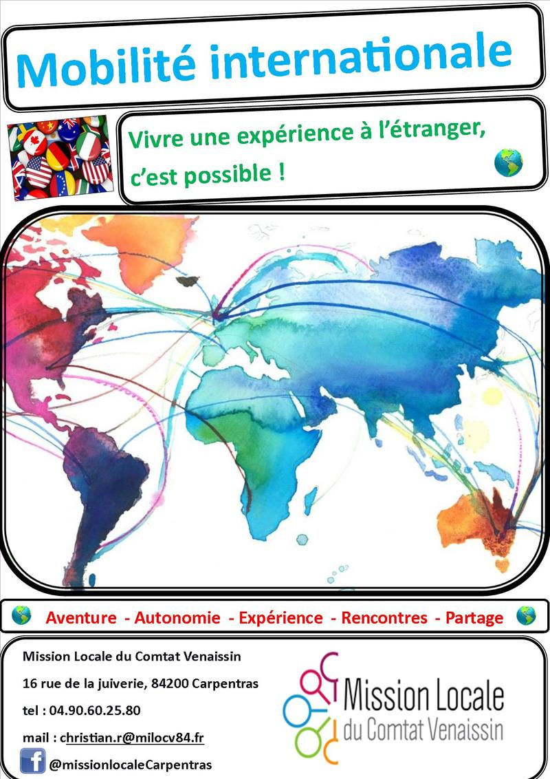 OFFRE DE SERVICE MOBILITE INTERNATIONALE